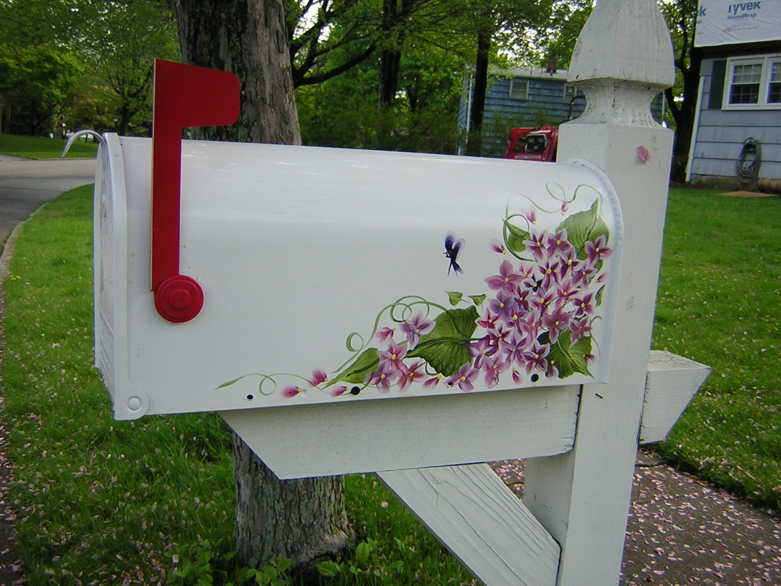 1000 images about hand painted mailboxes on pinterest for Mailbox ideas